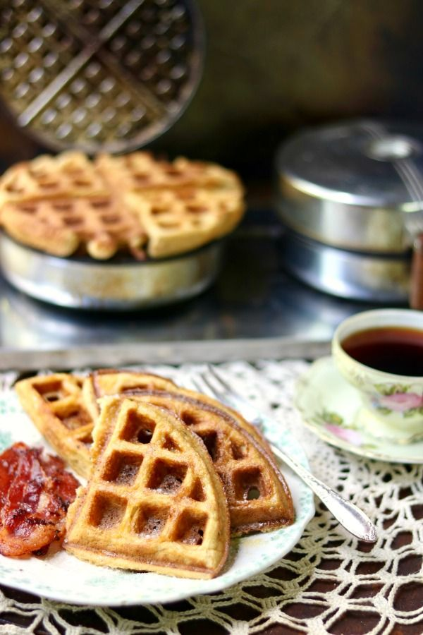 This low carb waffles recipe makes unbelievably crisp and light waffles in just a few minutes! From Lowcarb-ology.com