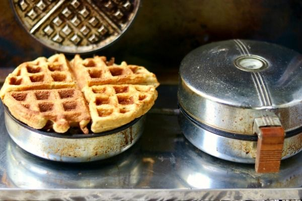 Easy low carb waffles recipe are crispy and light like your favorite waffles! From Lowcarb-ology.com
