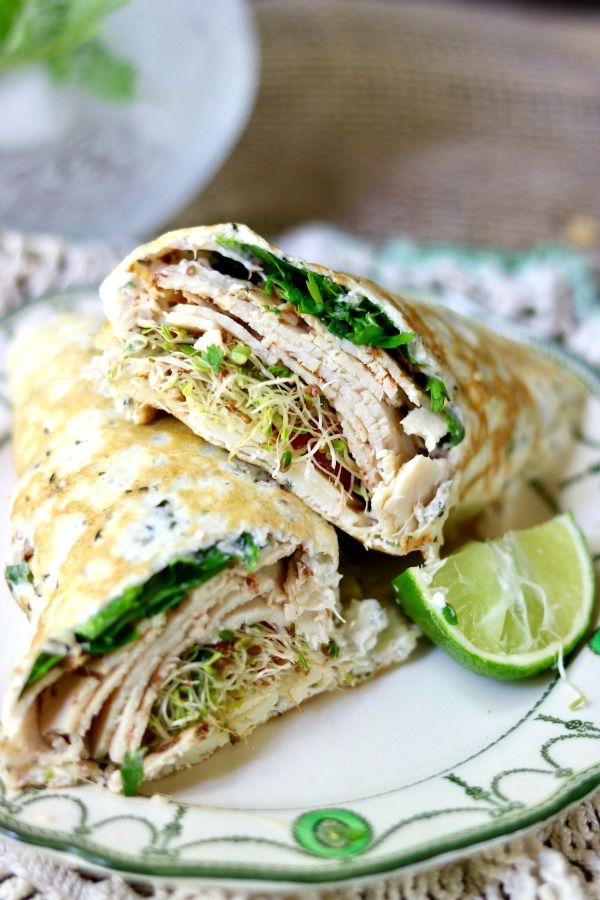 Low carb sandwich wraps bring your favorite sandwiches back to the table. Sturdy, taste great, and have just 1 net carb each. From Lowcarb-ology.com