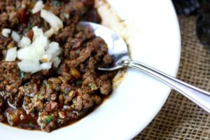 Low Carb Chili Recipe: Texas Style