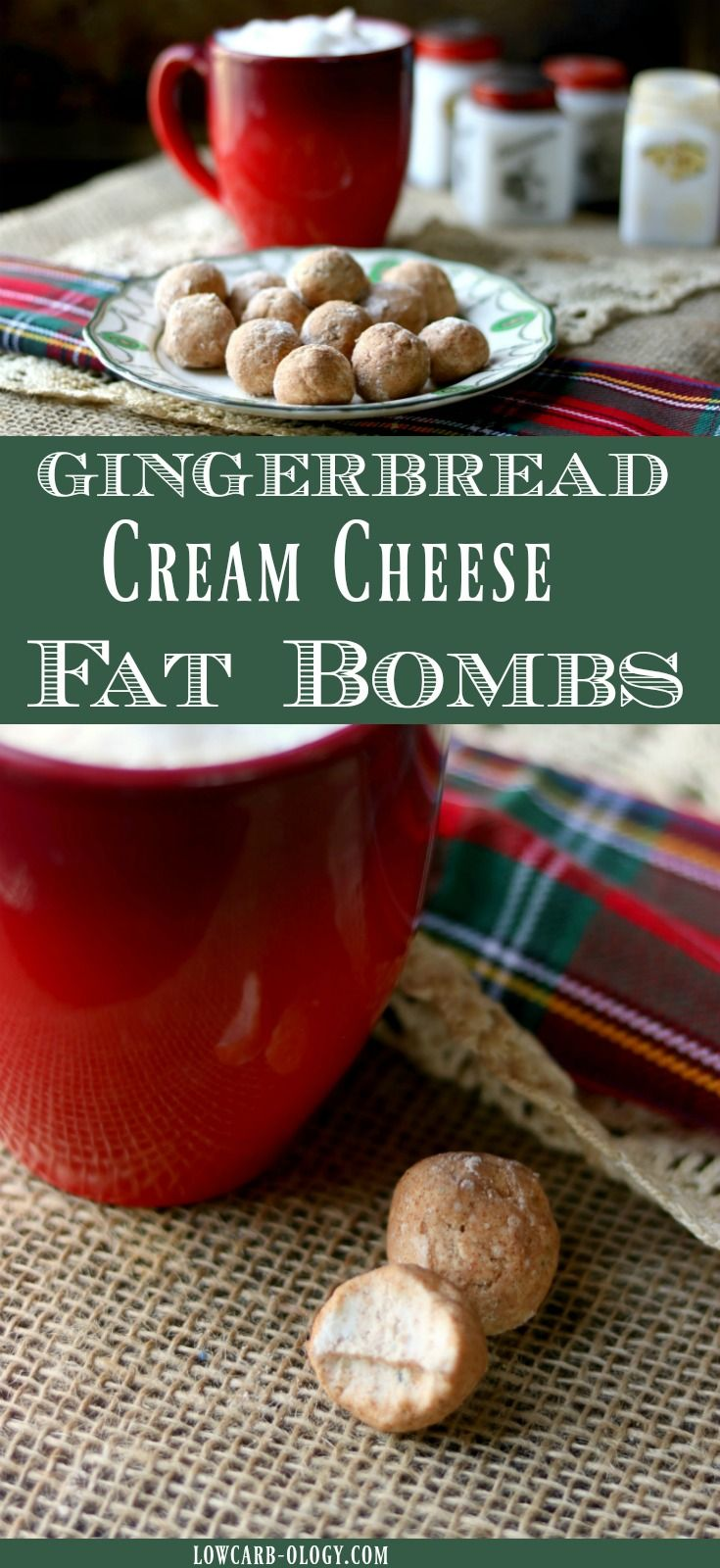 This cream cheese fat bombs recipe is the perfect way to resist holiday sweets and maintain your low carb lifestyle! A keto friendly snack like these gingerbread spice truffles will satisfy your sweet tooth and give you a feeling of being