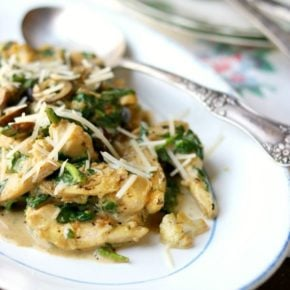 image of the low carb tuscan garlic chicken for the recipe box