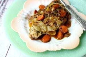 French Chicken Recipe: Low Carb Romantic Dinner
