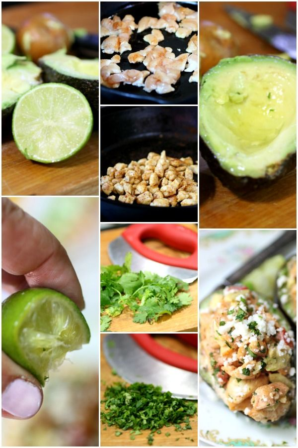 Collage of step by step images for making southwestern chicken salad.