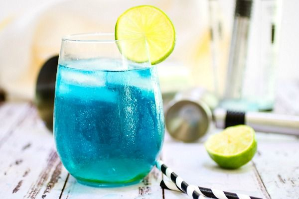 Feature image of blue lagoon cocktail