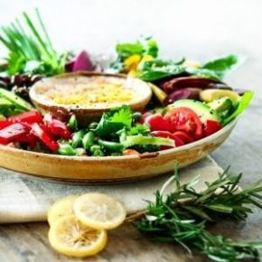 Small image of a crudite platter for the recipe card