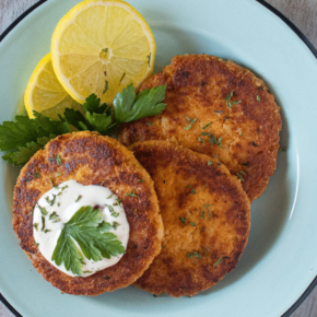 Lowcarb-ology Keto Crab Cakes Banner