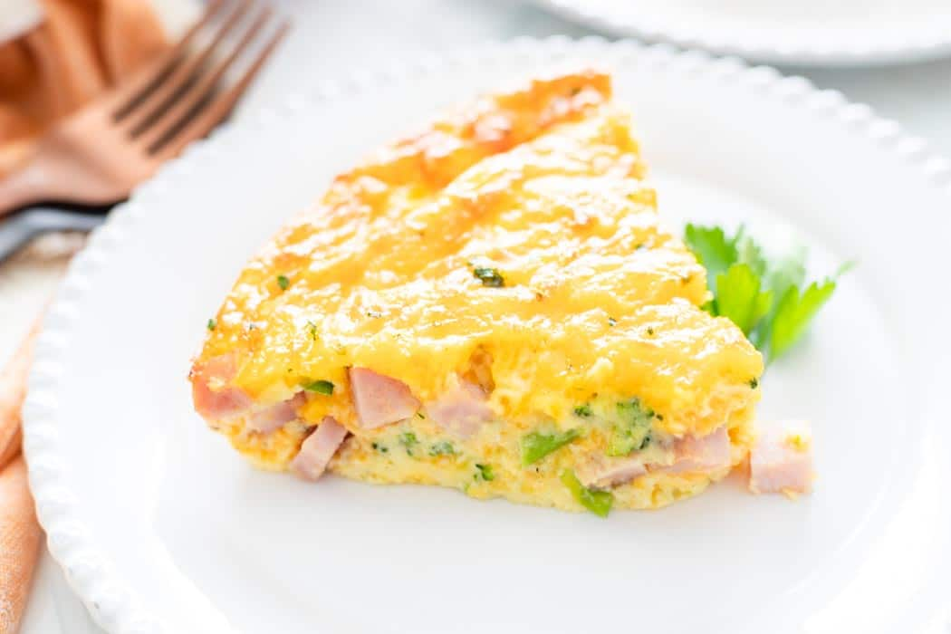 Keto Fritata close-up