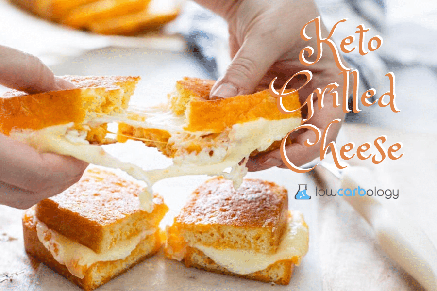 Keto Grilled Cheese Banner